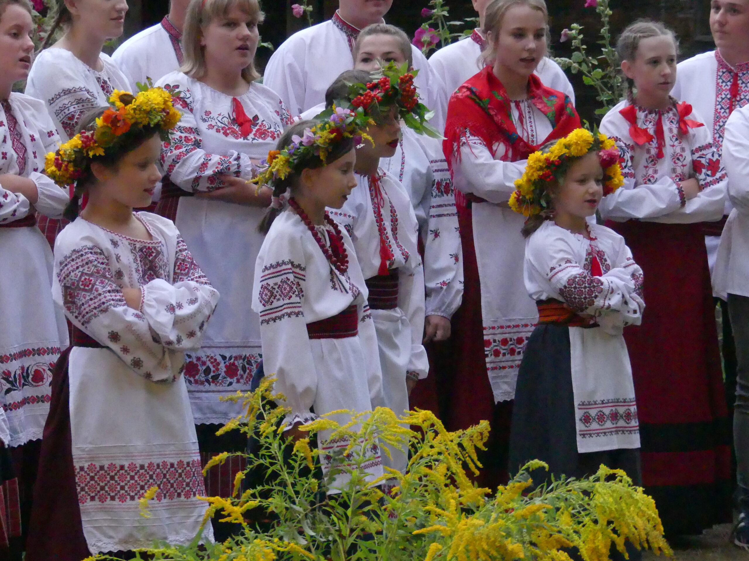 """«Літні зустрічі з українським фольклором»  """"Letnie spotkania z folklorem ukraińskim"""""""